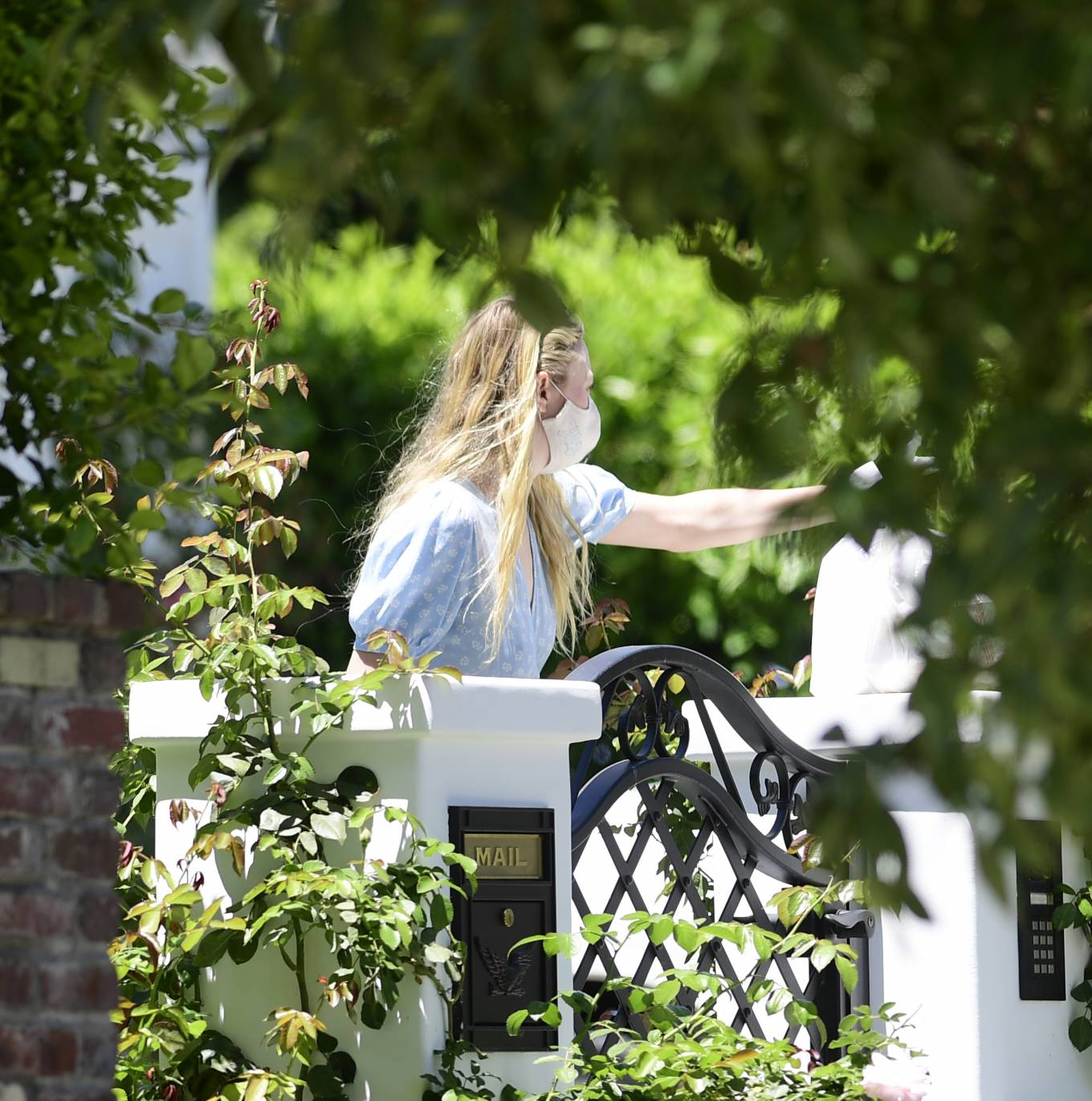 Dakota Fanning - Got food delivery in Los Angeles