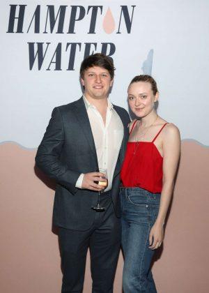 Dakota Fanning - Hampton Water Rose Celebrates LA Launch in West Hollywood