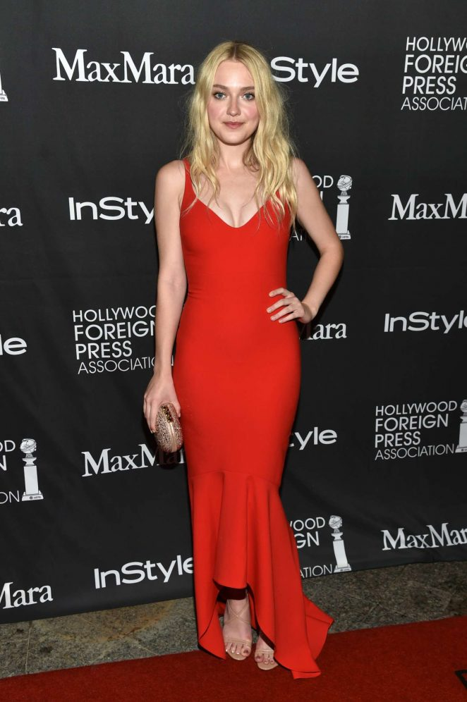 Dakota Fanning - Instyle Hollywood Foreign Press Association Party 2016 in Toronto