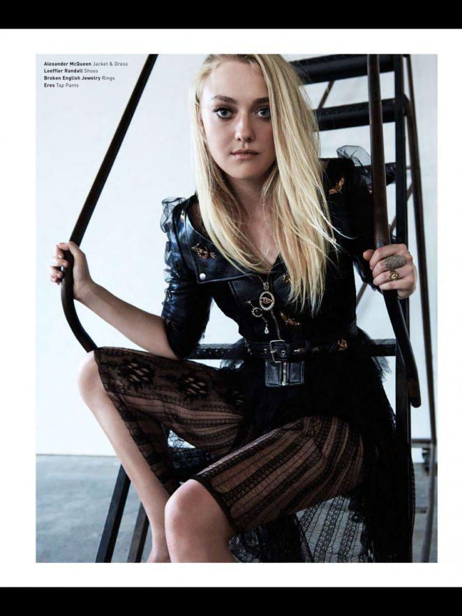 Dakota Fanning - Malibu Magazine (September/October 2016)