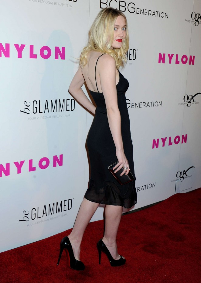 Dakota Fanning – NYLON Young Hollywood Party presented by BCBGeneration in Hollywood