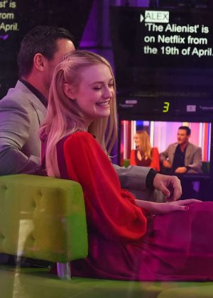 Dakota Fanning on The One Show in London