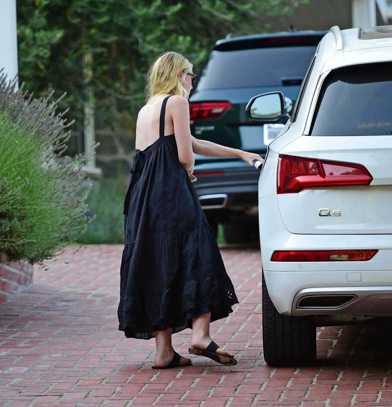 Dakota Fanning 2020 : Dakota Fanning – Out from a car in Los Angeles-07
