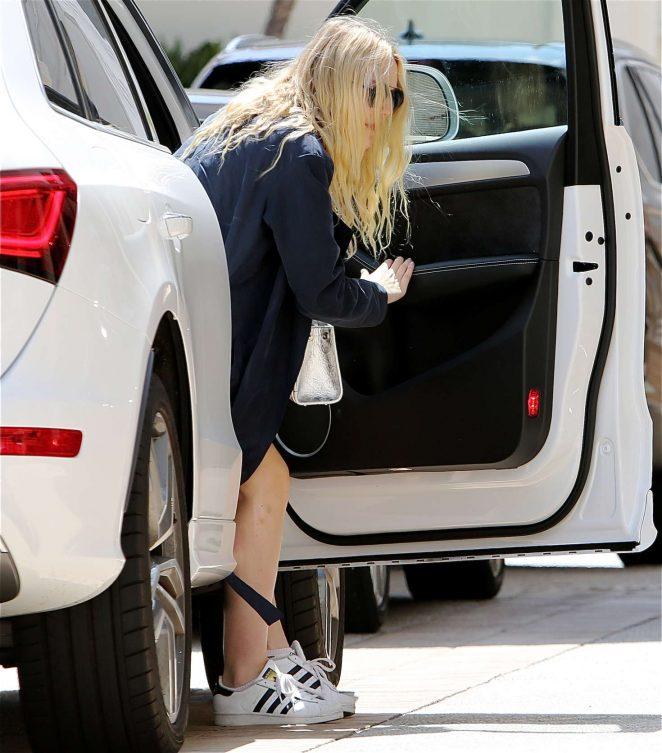 Dakota Fanning out in Los Angeles -07