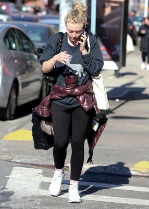 Dakota Fanning out in Manhattan