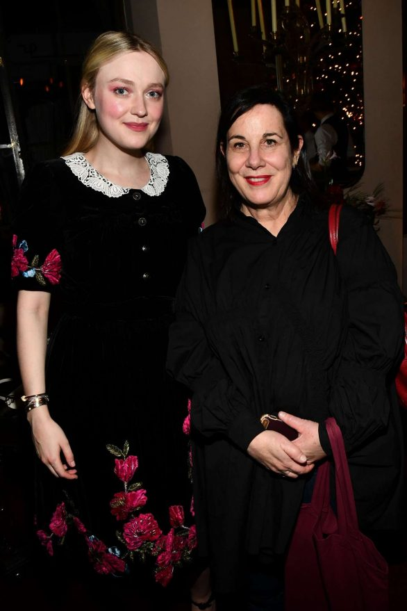 Dakota Fanning - Pictured at 'Eat The Sun' by Floria Sigismondi book party at Chateau Marmont