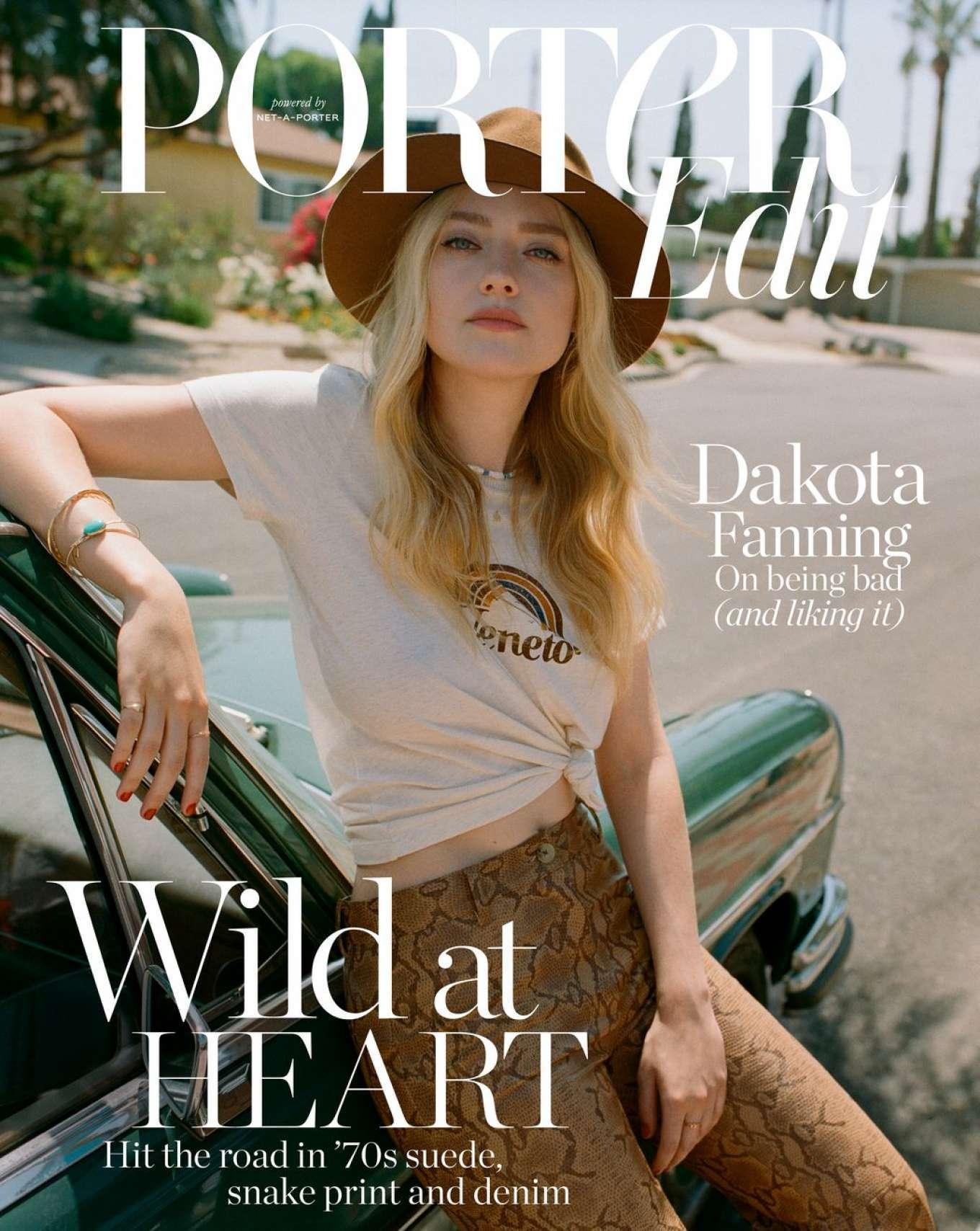 Dakota Fanning - The Edit by Net-A-Porter (July 2019)