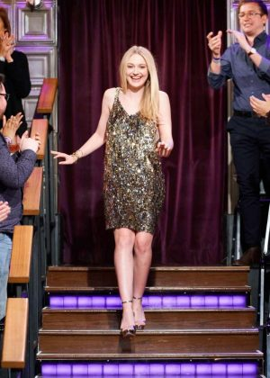 Dakota Fanning - 'The Late Late Show with James Corden' in LA