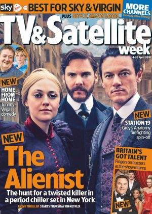 Dakota Fanning - TV and Satellite Week Magazine (April 2018)