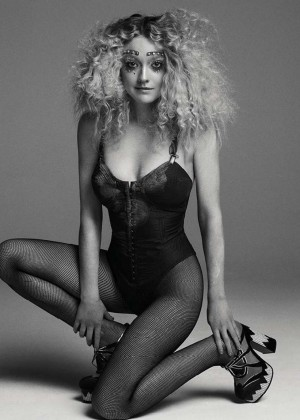 Dakota Fanning - V Magazine #100 (Spring 2016)