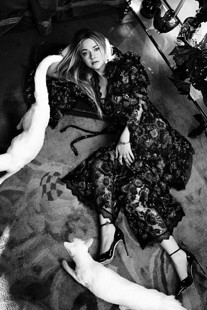 Dakota Fanning – Vogue Australia Magazine (February 2018)