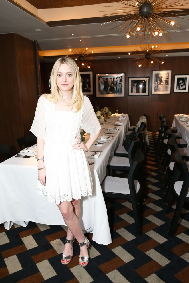Dakota Fanning - VOGUE Celebrates AGL Collection in NYC