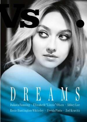 Dakota Fanning - Vs. Magazine Cover (Spring/Summer 2015)