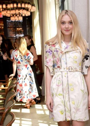 Dakota Fanning - W Magazine It Girl Luncheon in New York
