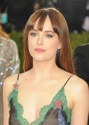 Dakota Johnson - 2016 Met Gala in NYC
