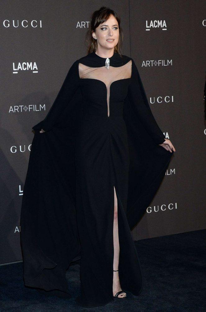 Dakota Johnson - 2018 LACMA Art+Film Gala in Los Angeles