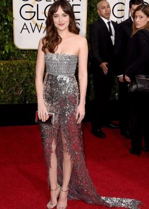 Dakota Johnson - 2015 Golden Globe Awards in Beverly Hills