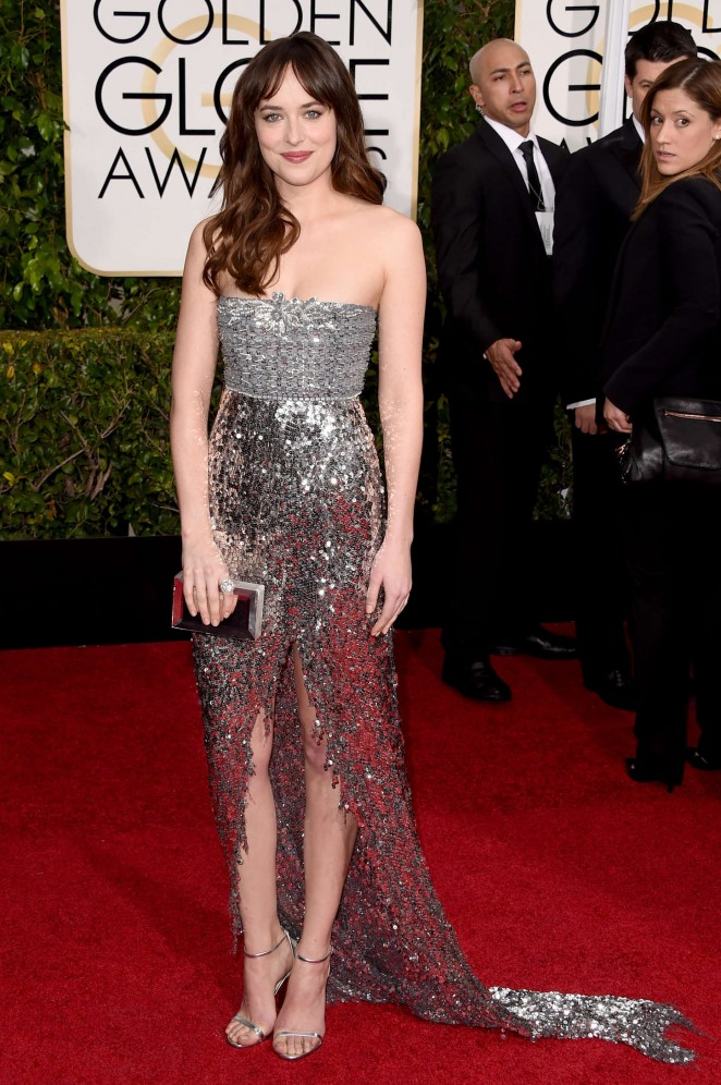 Dakota Johnson – 72nd Annual Golden Globe Awards in Beverly Hills