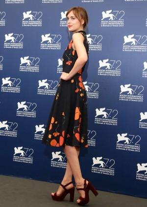 Dakota Johnson - 'A Bigger Splash' Photocall at 72nd Venice Film Festival