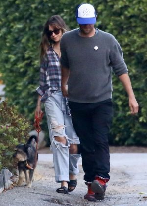 Dakota Johnson and Chris Martin out in Malibu