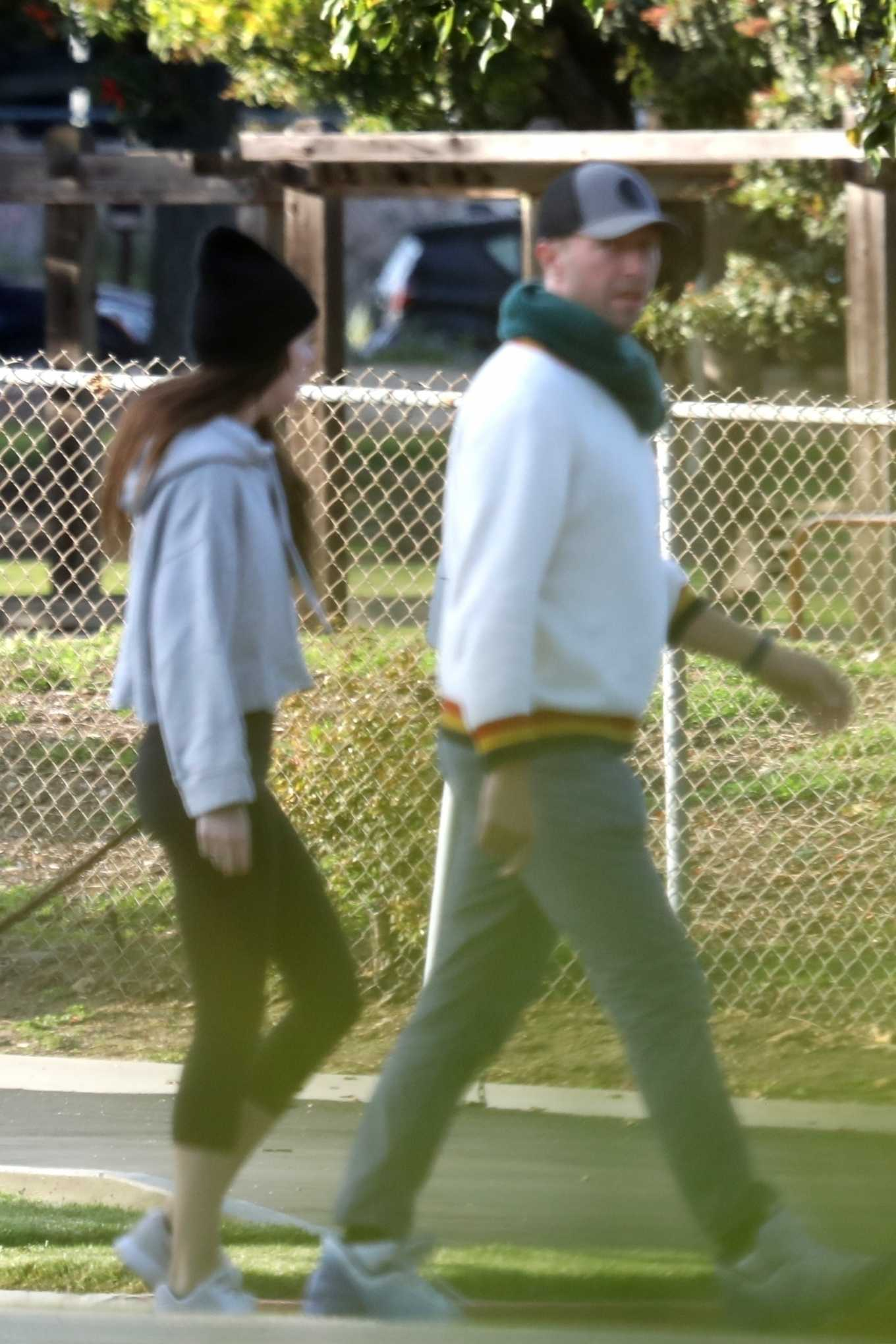 Dakota Johnson 2020 : Dakota Johnson and Chris Martin – step out in Malibu-04