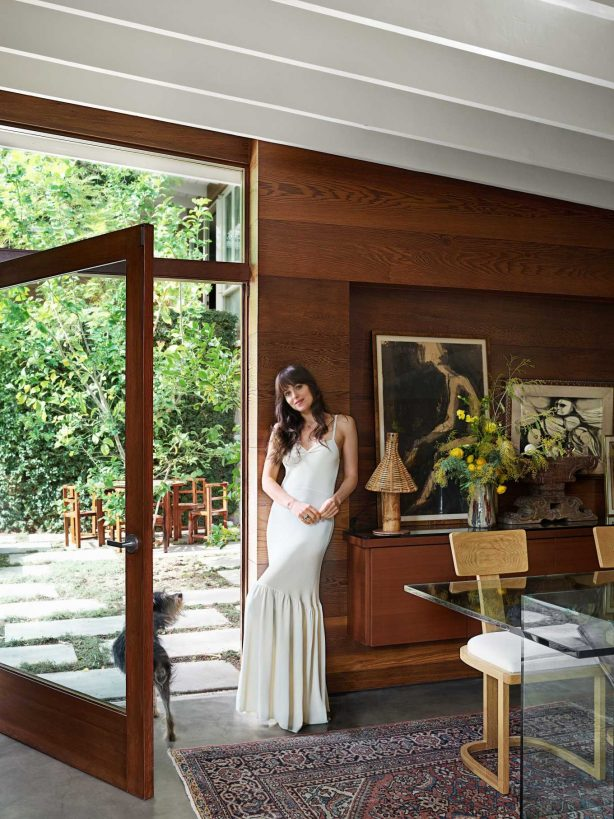 Dakota Johnson - Architectural Digest Magazine (March 2020 issue)