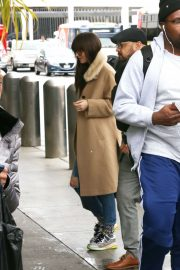 Dakota Johnson - Arrives at LAX in Los Angeles