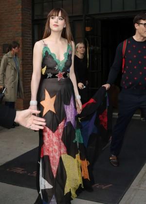 Dakota Johnson - Arriving at 2016 Met Gala in NYC