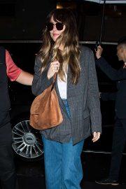 Dakota Johnson - Arriving at her hotel in New York