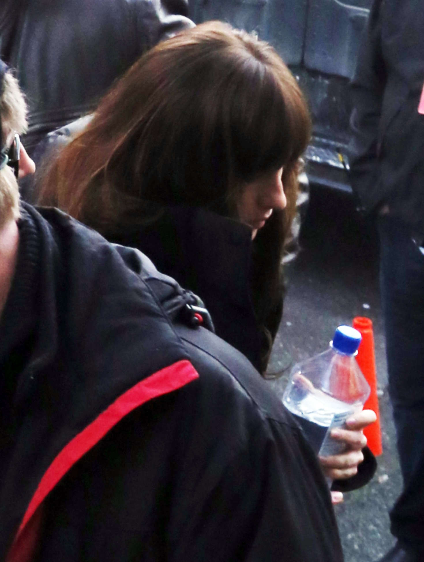 Dakota Johnson 2016 : Dakota Johnson: Arriving on the set of Fifty Shades Darker -05