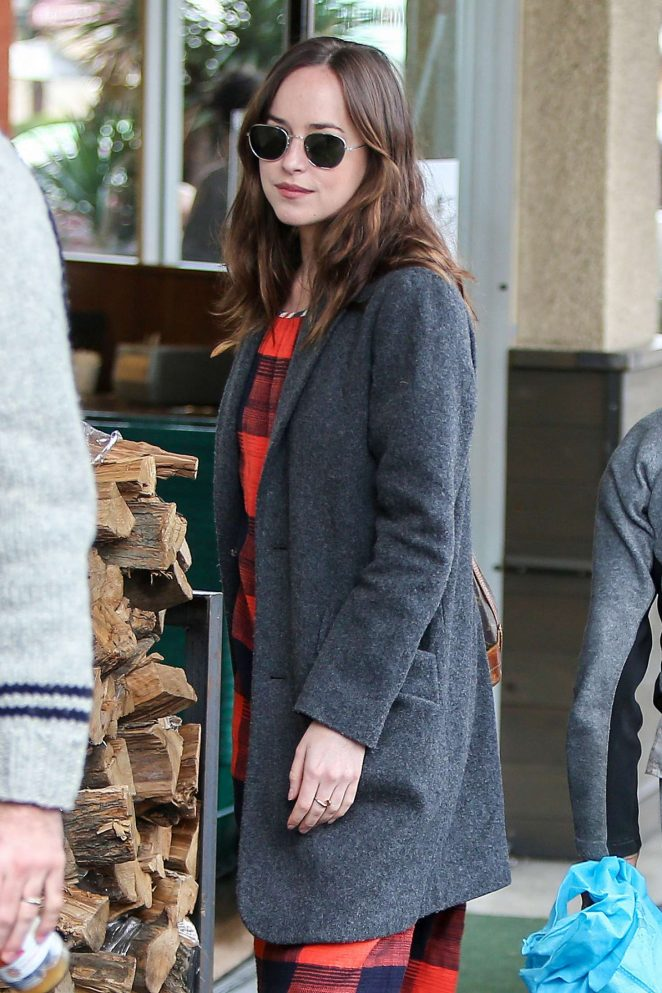 Dakota Johnson at Erewhon Market in Los Angeles