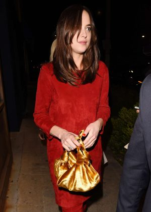 Dakota Johnson at Power Stylists Dinner in West Hollywood