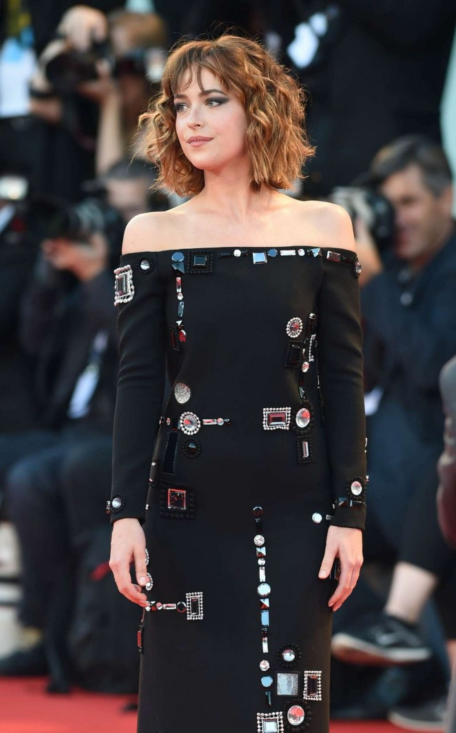 Dakota Johnson - 'Bigger Splash' Premiere in Venice