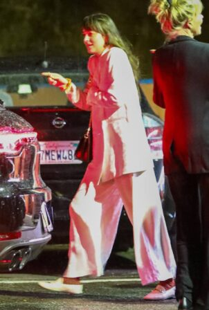 Dakota Johnson - celebrates her 32nd birthday with her mother Melanie Griffith in LA