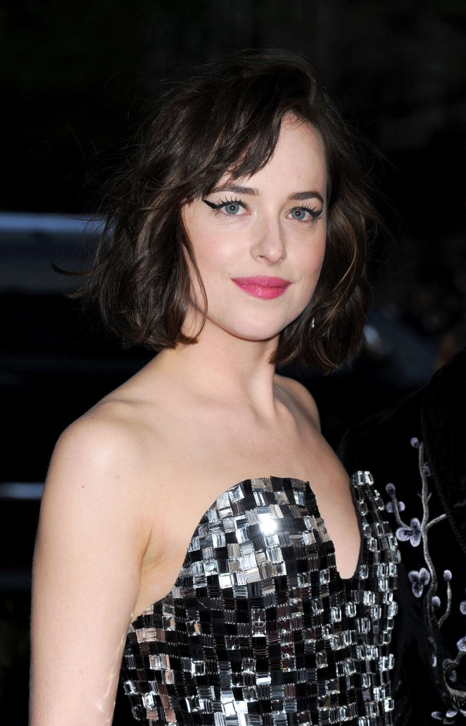 Dakota Johnson - 2015 Costume Institute Gala in NYC
