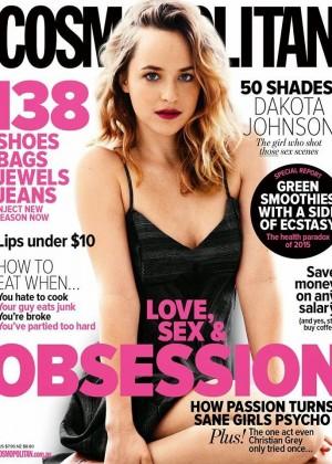 Dakota Johnson - Cosmopolitan Australia Cover (April 2015)