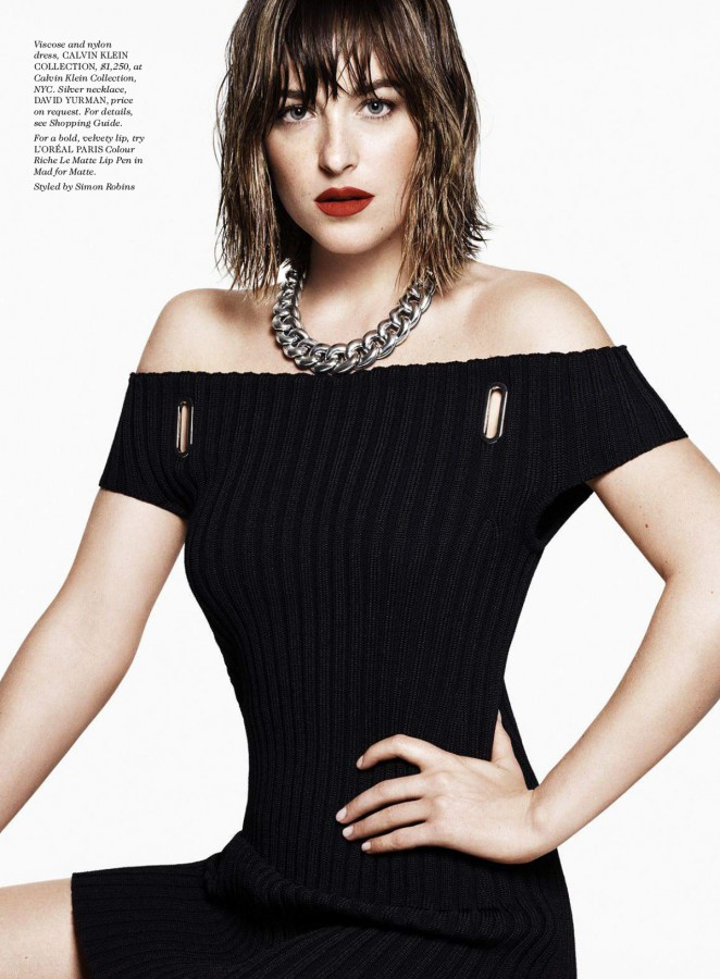 Dakota Johnson - ELLE US Magazine (November 2015)