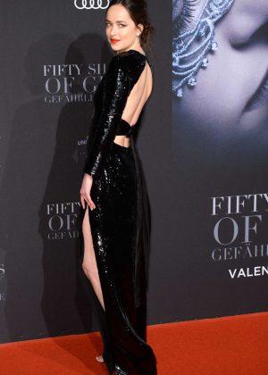 Dakota Johnson - 'Fifty Shades Darker' Premiere in Hamburg
