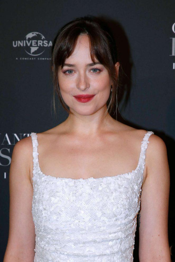 Dakota Johnson - 'Fifty Shades Freed' Premiere in Paris