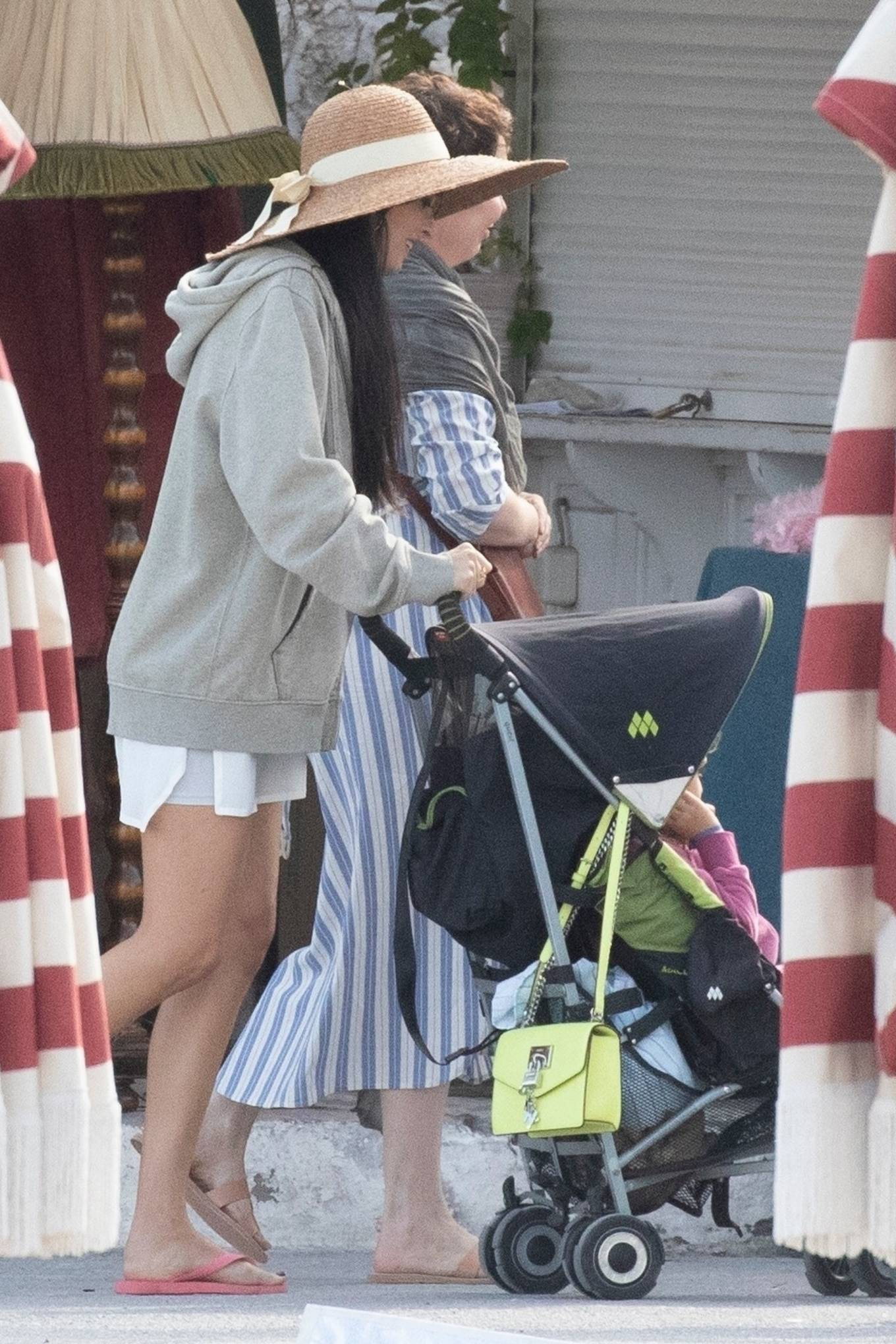 Dakota Johnson 2020 : Dakota Johnson – Filming The Lost Daughter in Speteses Island-02