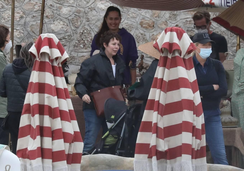 Dakota Johnson 2020 : Dakota Johnson – Filming The Lost Daughter in Speteses Island-04