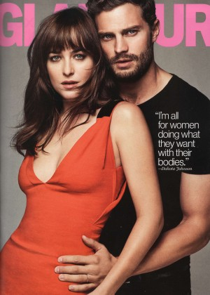 Dakota Johnson - Glamour Magazine (March 2015)