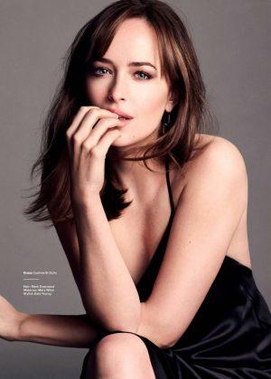 Dakota Johnson - Glamour UK Magazine (March 2017)