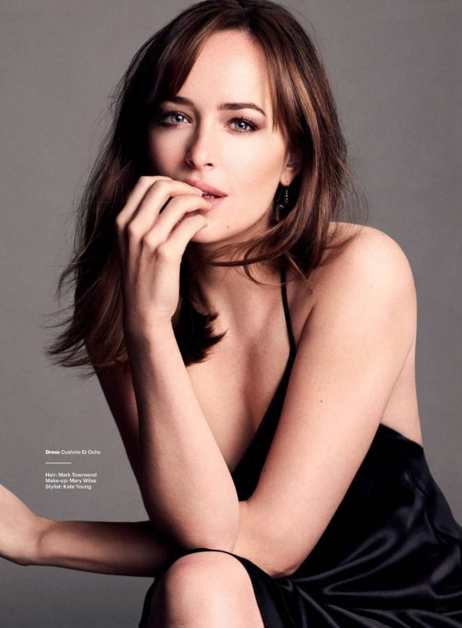 Dakota Johnson - Glamour UK Magazine (March 2017)