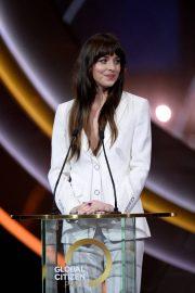 Dakota Johnson - Global Citizen Prize 2019 in London
