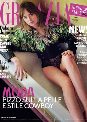 Dakota Johnson - Grazia Italy Magazine (March 2018)