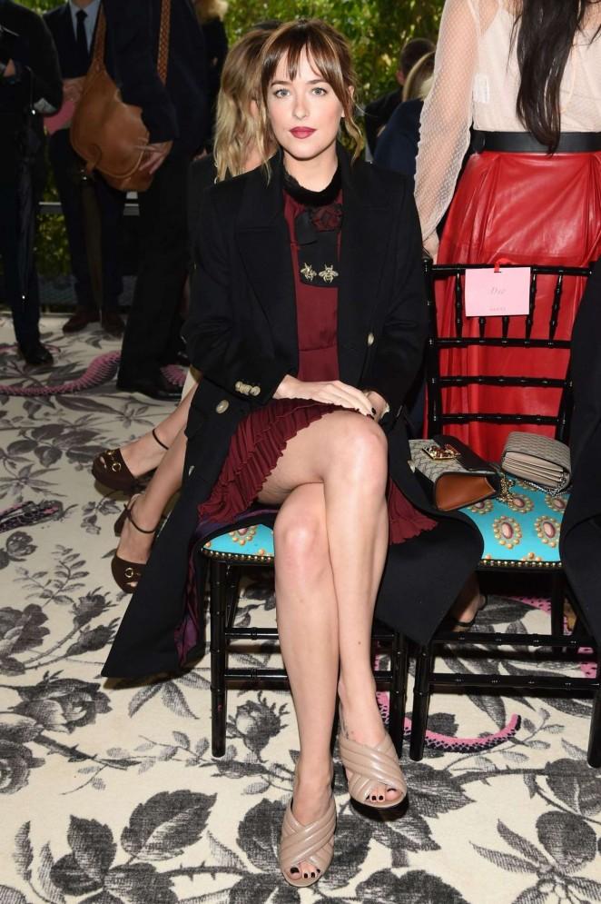 Dakota Johnson – Gucci Fashion Show at Milan Fashion Week