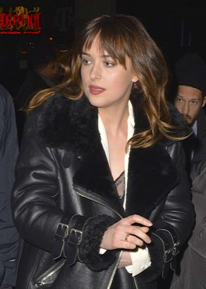 Dakota Johnson - Heading to SNL After Party in NY