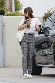 Dakota Johnson - Heads to Cabin Editing Company in Santa Monica