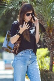 Dakota Johnson - Hits up an LA Hair Salon